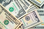stock photo of twenty dollars  - United States Dollars  - JPG
