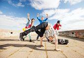 image of break-dance  - sport - JPG