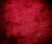stock photo of glory  - Grunge background of crimson glory leather texture for design - JPG
