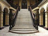 Escada colonial em Lima Peru