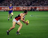 MELBOURNE - SEPTEMBER 18: An unidentified player in action at St Kilda's win over the Western Bulldo