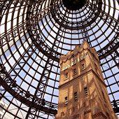 Shot tower at Melbourne Central