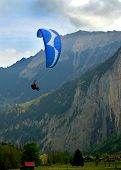 Paragliding The Alps