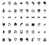 Large set of web icons