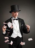 tarjetas de malabares de mago