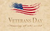 Veterans Day Is An Official United States Public Holiday, Observed Annually On November 11, That Hon poster
