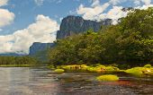 picture of canaima  - Picturesque tepuis in Canaima National Park Venezuela - JPG
