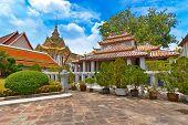 The Grand Palace Wat Phra Kaeo in Bangkok, Thailand