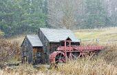 Getreidemühle in der Nähe von Guilhall, Vermont, usa