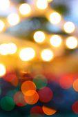 Color glow light blur