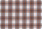 Sample Of Tartan Chequered Fabric