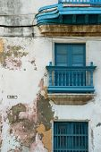 Typical facade in Old Havana