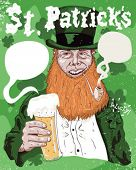 St. Patrick ideal poster.