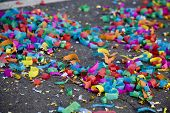 Confetti On The Street