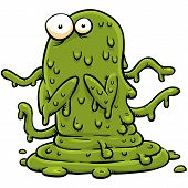 Green Slime Monster
