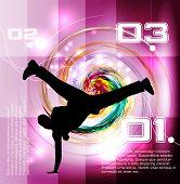 Break dancers collection vector