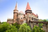 stock photo of dracula  - The Hunyad Castle - JPG