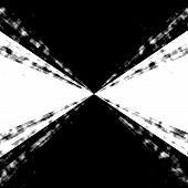 B&w Zooming Vortex