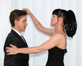 LOS ANGELES - AUG 18:  Brian Dietzen, Pauley Perrette arrives at the 17th Annual Angel Awards at Pro