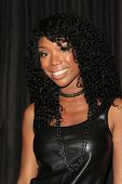 LOS ANGELES - AUG 28: Brandy Norwood at the premiere of GoDigital's 'You, Me & The Circus' at Supper