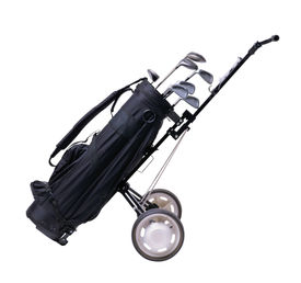 stock photo of golf bag  - isolated golf bag  with working path - JPG