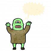 ogro dos desenhos animados