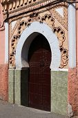 A Mosque Entrance In Marrakesh