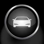 Car Icon Vector Symbol