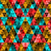 Pixel Triangle Pattern