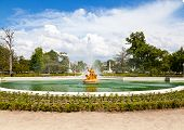 Ceres Fountain At Parterre Garden In Aranjuez