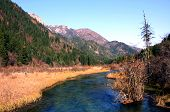 picture of fairyland  - Jiuzhaigou in the most strange and beautiful waterscape  - JPG