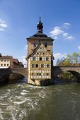 The old Town Hall in Bamberg, Bavaria, Germany.