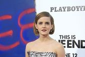 LOS ANGELES - JUN 3: Emma Watson at the premiere of Columbia Pictures' 'This Is The End' at the Rege