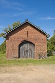 picture of blacksmith shop  - A South Carolina Blacksmith shop built in the early 1800 - JPG
