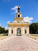 Beautiful Main Gate of the Branicki Palace