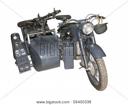 German Motorcycle Bmw R12 With