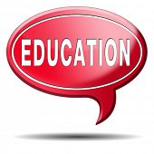 education learn and study to gather knowledge and wisdom education button education icon building kn