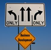 picture of going out business sale  - Which way to go in todays business world - JPG