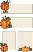 Pumpkin Banners