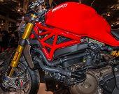 2014 Ducati Monster, Michigan Motorcycle Show