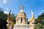 Temple In  Chiang Dao, Thailand