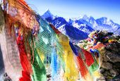 Prayer Flags with Mantras