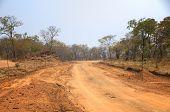 Landscape in Zambia, Africa