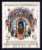 Postage Stamp Austria 1981 Holy Trinity, Byzantine Miniature
