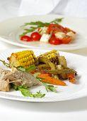 Gourmet Entree & Salad