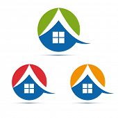 house, home icon set