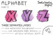 Colorful alphabet - Part 9