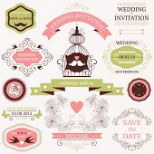 decorative wedding design elements