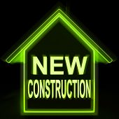 New Construction Home Shows Recent Building Or Development