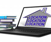 Location Location Location House Laptop Means Best Area And Idea